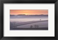 Framed Snow Plains