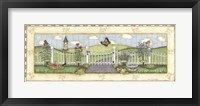 Butterfly Fence Framed Print
