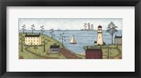Little Lighthouse Framed Print