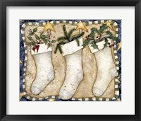 Framed Christmas Stockings