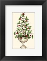 Framed Holly Tree Topiary