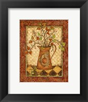 Framed Pumpkin Pitcher