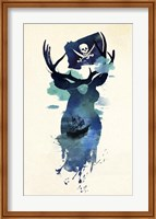 Framed Captain Hook