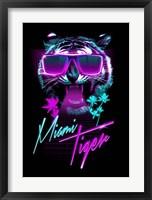 Framed Miami Tiger