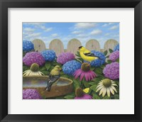 Framed Goldfinches