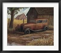 Framed Old Ford