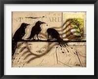 Framed Curious Birds