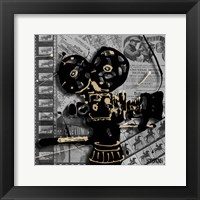 Framed Movie Camera 1