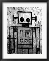 Framed Boy Robot