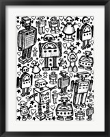 Framed Robot Crowd