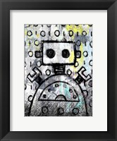 Framed Urban Robot Color