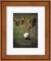 Framed Crocodile Golf