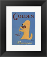 Framed Golden Shampoo