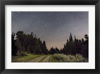 Framed Meteor and Big Dipper, Mount Kobau, Canada