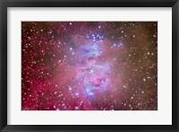 Framed Orion Nebula Region
