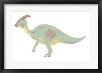 Framed Parasaurolophus