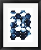 Stormy Geometry I Framed Print