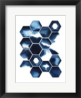 Stormy Geometry II Framed Print