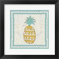 Framed Pineapple Vacation IV