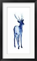 Ink Drop Rusa Deer I Framed Print