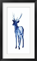 Ink Drop Rusa Deer II Framed Print