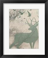 Deer Solace I Framed Print