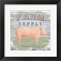 Farm Supply II Framed Print