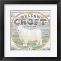 Farm Supply III Framed Print