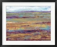 Terra Vista III Framed Print