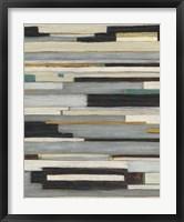 Textile Ratio I Framed Print