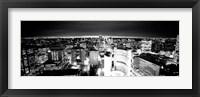 Framed Toronto, Ontario, Canada BW