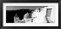 Framed Church in a city, Santorini, Greece