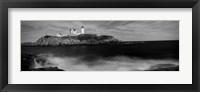 Framed Nubble Lighthouse, York, York County, Maine