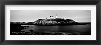 Framed Nubble Lighthouse, Cape Neddick, York, Maine