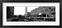 Framed Bricktown Mercantile, Oklahoma City, Oklahoma