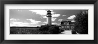 Framed Highland Light, Cape Cod National Seashore, North Truro, Cape Cod, Massachusetts