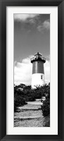 Framed Nauset Lighthouse, Nauset Beach, Eastham, Cape Cod, Massachusetts