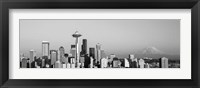 Framed Skyline, Seattle, Washington State