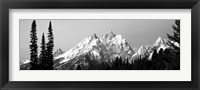 Framed Cathedral Group Grand Teton National Park WY