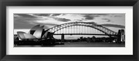 Framed Sydney Harbour Bridge At Sunset, Sydney, Australia