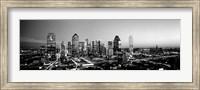 Framed Night, Dallas, Texas