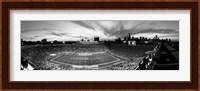 Framed Soldier Field Football, Chicago, Illinois