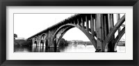 Framed Henley Street Bridge, Tennessee River, Knoxville, Tennessee