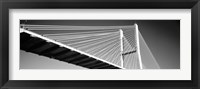 Framed Talmadge Memorial Bridge, Savannah, Georgia