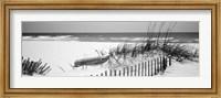 Framed Fence on the beach, Alabama, Gulf of Mexico