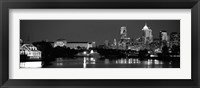 Framed Philadelphia, Pennsylvania (black & white)