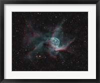 Framed NGC 2359, Thor's Helmet