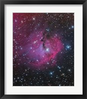Framed VDB 93 is an emission and reflection Nebula in Canis Major