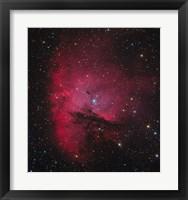 Framed NGC 281, the Pacman Nebula
