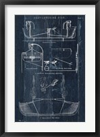 Framed Boat Launching Blueprint I